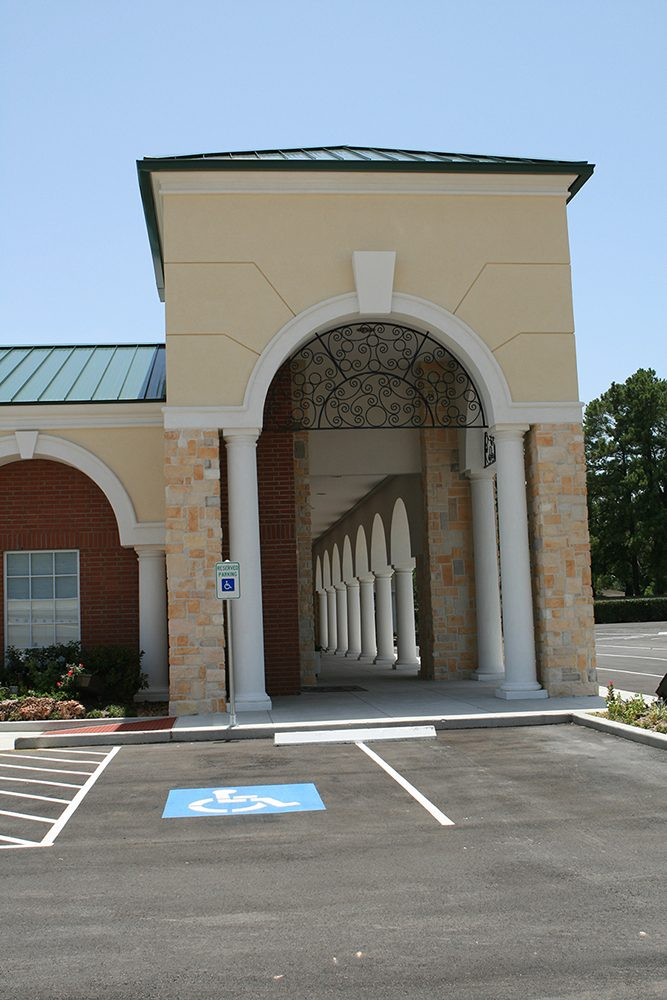 Earthman Hunters Creek Funeral Home outside view