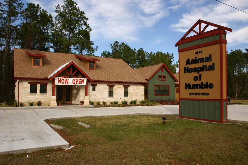 Humble Animal Hospital front of building